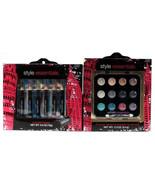 Style Essentials Cream Eyeshadow & Eyeliner Pencil Kits Colorful Makeup Gift Set - $24.99