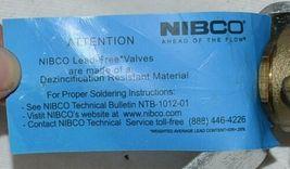 NIBCO TFP600A LF Lead Free Brass Ball Valve CS Standard Level Handle 2 Inch image 5