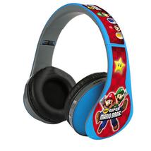 Super Mario Nintendo Blue Headphones FM, Bluetooth & SD CARD - $26.00