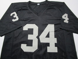 BO JACKSON / NCAA HALL OF FAME / AUTOGRAPHED OAKLAND RAIDERS CUSTOM JERSEY / COA image 2