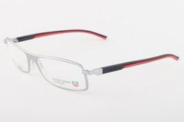 Tag Heuer 801 002 Automatic Silver Black Red Eyeglasses TH801-002 58mm - $224.42