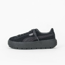 CHAUSSURES FEMME PUMA SUEDE PLATFORM TRACE ANIMAL 367814 SNEAKERS WOMAN ... - $73.60