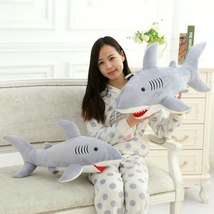 High Quality 70cm Shark Plush Toy Stuffed Pillow Doll Birthday Gift Kids Toy Bab image 2
