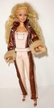 "1998 Mattel Blonde Hair Barbie Fully Dressed Doll With Bend Knees 11.5"" - $12.00"