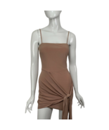 Fashion Nova Dress Small Mini Bodycon Mauve NEW with Tags Rose/Nude USA ... - $19.99