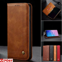 For Samsung S20 Ultra S10 S10E S9 S8 Plus Wallet Case Leather Cards Flip Cover - $64.83