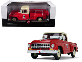 International Harvester C1100 Pickup Truck RED/ Cream 1/25 By First Gear 40-0419 - $89.95
