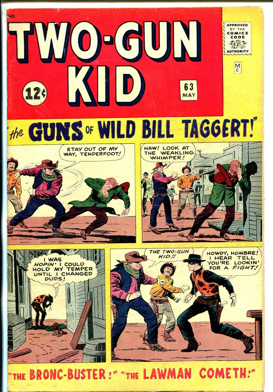 Two-Gun Kid #63 1963-Marvel-John Severin-JacK Kirby-VG/FN