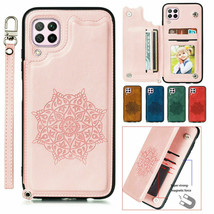 For Samsung Galaxy A12 A02S A42 A52 A72 Leather Wallet Flip Magnetic Back Cover - $46.24