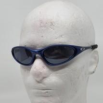 Vintage Midnight Blue OAKLEY Straight Jacket sunglasses. Made in USA  - $85.00