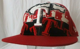 59FIFTY TEXAS RANGERS CAP NEW ERA MLB GENIUNE FITTED SIZE 7 1/2 - $27.71
