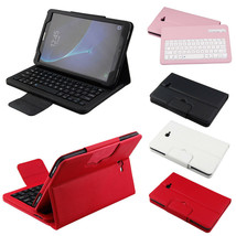 Qwerty Bluetooth Keyboard Leather Case For Samsung Tab A A6 T580 T585 10... - $142.06