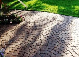 "Keystone Concrete Cobblestone Molds 12 - 6"" Make Thick Driveway Pavers at Home image 5"