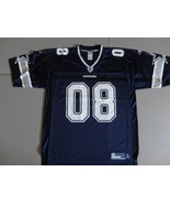 "Blue Reebok Onfield Dallas Cowboys #08 ""One Team"" NFL Screen Jersey Mens... - $39.24"