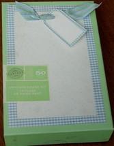 Gartner Studios Baby Boy Announcement Kit - 50 count - Blue - BRAND NEW - $23.75