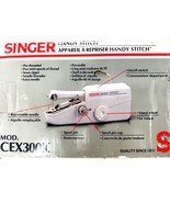 Singer Handy Stitch Sturdy Chain Stitch Seam Ripper Battery Operated CEX... - $17.75