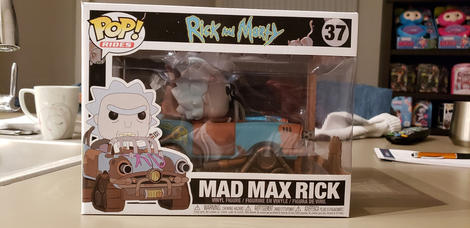 Pop Rides Mad Max Rick Collectable.