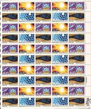 Knoxville World's Fair Sheet of 50 x 20 Cent US Postage Stamps Scott 2006-09 by  - $14.43