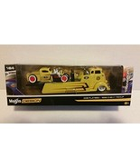 Maisto Design 1:64 Transport COE Flatbed / 1936 Chevy Pickup - $15.76