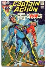 CAPTAIN ACTION #3-GIL KANE COVER ART-DC VG - $9.70