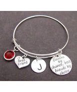 Cousin Bracelet Jewelry, Cousins by Chance Friends by Choice, Cousin Ban... - $17.00