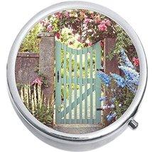 Garden Gate Medicine Vitamin Compact Pill Box - $9.78