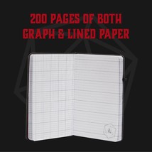 Dungeons and Dragons Player's Notebook with Pencil - Lined and Grid Page... - $45.09