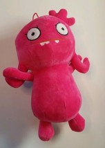 "Uglydolls Pink 10"" with Hanging Loop Plush Cuddly Sewn Eyes - $10.19"
