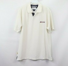Vintage 90s Tommy Hilfiger Mens Large Spell Out Athletic Fit Short Sleeve Polo - $33.61