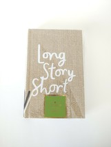 """Kate Spade word to the wise """"Long Story Short Journal"""" Grasscloth - $21.77"""