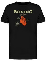 Boxing Gloves Champion Men's Tee -Image by Shutterstock - $12.99+