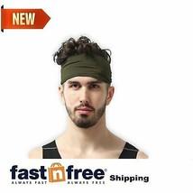 Basketball Headband Mens Sports Elastic Sweatband Running Workout Gym Band - $10.58