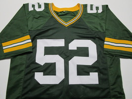 CLAY MATTHEWS / AUTOGRAPHED GREEN BAY PACKERS GREEN CUSTOM JERSEY / COA image 2