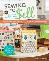 Business Book, Sewing To Sell Locally, Online, Beginner Guide Sewing, an... - $21.31