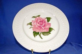 Theodore Haviland Regents Park Rose Set of 4 Dinner Plates - $16.88
