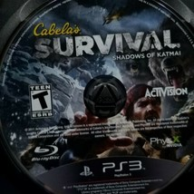 Cabela's Survival: Shadows of Katmai (Sony PlayStation 3, 2011) Disc Only - $10.88