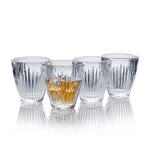 Mikasa Parkside Set of 4 Double Old Fashioned Glasses - $26.72