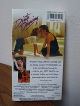 Dirty Dancing VHS New Factory Sealed 1987 Includes theatrical trailer VHS Video image 2