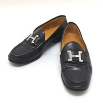 AUTHENTIC HERMES Constance Loafers Leather Wome... - $250.00