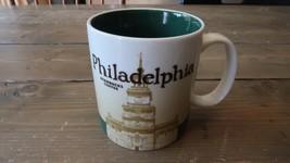 Starbucks Coffee Philadelphia City Mug Cup 2011 Global Icon Independence Hall - $34.64