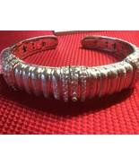 Sterling silver bracelet,Large,CZ,Judith Ripka,NWT - $153.45