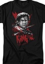 Army Of Darkness King Baby Retro Horror 80's Evil Dead Graphic T-shirt MGM125 image 2