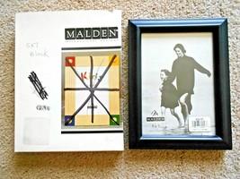 """Malden Wood 5"""" x 7"""" Black Picture Frame #622-57 - $7.91"""