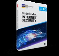 Bitdefender Internet Security 2019 (1 Year 3 Users) Download - $44.95