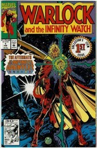 WARLOCK AND THE INFINITY WATCH (1992 Series) 1 2 3 4 5 - All Near Mint - $19.99