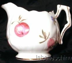 Florida Mini Creamer Crocus Shape Bone China Gilt Made in England by Ayn... - $29.65