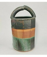 Patrick Horsley Large Studio Ceramic Handmade Wheel Thrown Stoneware Bas... - $149.95
