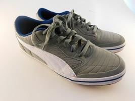 PUMA Men's Astro Sala Soccer Shoe Men's Size 7.5 M Burnt Olive / White - $27.71