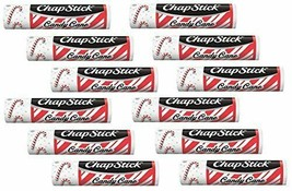 New ChapStick Candy Cane (12 Sticks) - NEW DESIGN Hard to Find In Stores - $24.99