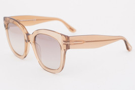 Tom Ford BEATRIX Light Brown / Brown Gradient Sunglasses TF613 45F BEATRIX-02 - $195.02